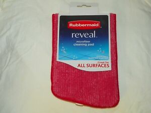 """New Rubbermaid Reveal Microfiber Cleaning Pad Replacement 1M19 16.5"""""""