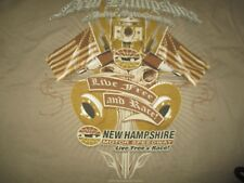 "New Hampshire Motor Speedway NHMS ""Live Free and Race!"" (XL) T-Shirt"