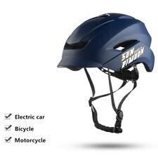 Casco Bicicleta Con Intermitente Luz LED Montaña Práctico Ideal Útil