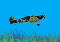Hawker Hurricane photoshop pre set  canvas prints various sizes free delivery