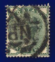1880 SG164 ½d Deep Green K1(1) Newspaper Branch Good Used CV-FU £22 cbog
