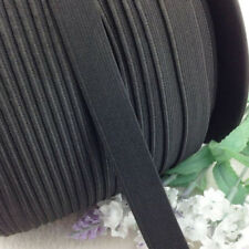 "5Y U Pick Black Color Braided Elastic 5/8"" (15mm) Elastics For Sewing"