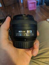 NIKKOR 35mm f1.8G AF-S DX Lens for Nikon DSLR