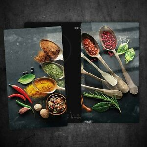 Cutting Chopping Board Induction Hob Toughened Glass Cover Herbs Spice 87648264n