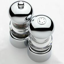"""Chef Specialties 5.5"""" Lori Pepper Mill & Salt Shaker Set"""