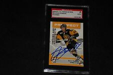 STEVE STAMKOS 2006-07 IN THE GAME SIGNED AUTOGRAPHED CARD #80 SGC AUTHENTIC