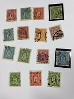Denmark Official Stamps O2, 7-9, 9B, 10-12 Free US Shipping $195+ SCV
