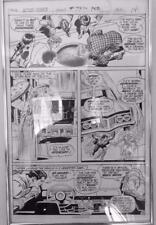 Action Comics #409 DC 1971 (Original Art) Page 14 Curt Swan Murphy Anderson Comic Art