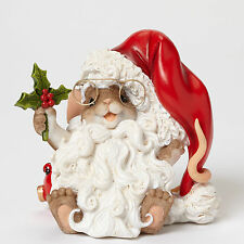 Charming Tails Mouse Dressed as Santa Figurine New 4046949 Christmas