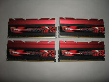 *** DDR3 G.Skill TRIDENT X 32GB 4x 8GB 2400MHz PC-19200 1.65V DDR3***