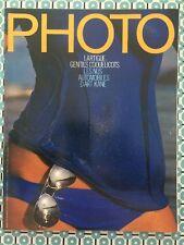 PHOTO n°118 French Juil 1977 Lartigue Nus de Playboy Art Kane Jill Freedman