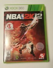 NBA 2K12 (Microsoft Xbox 360, 2011) CIB
