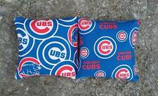 Chicago Cubs Cornhole 8 Bags NEW PRINT Baseball Corn hole Baggo Toss MLB fabric