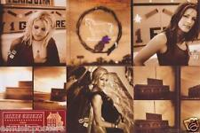 """DIXIE CHICKS """"HOME"""" 2-SIDED U.S. PROMO POSTER - Classic Shots of the Girls!"""