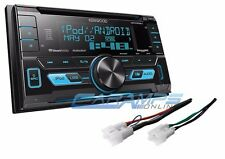 NEW KENWOOD STEREO RADIO RECEIVER W/ INSTALL PARTS W/ USB/AUX INPUTS & SIRIUS XM
