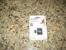 ADATA Micro 8GB SDHC Card with SD adapter AUSDH8GCL4-RA1 memory card camera Sony