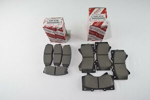 Genuine Toyota Tundra 2007-2018 Front and Rear OEM Brake Pads Kit