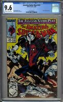 Amazing Spider-Man 322 CGC Graded 9.6 NM+ McFarlane Marvel Comics 1989