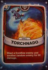 Skylanders Battlecast Collector's Card Spell Torchnado