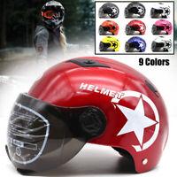 Motorradhelm Motorrad Roller Helm UV-beständig Quad Klapphelm Universal Modern