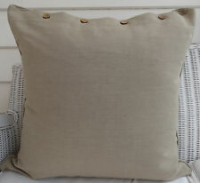 "LARGE CUSHION COVER 60 X 60 - ""PUTTY' - DAYBED, FLOOR COUCH CUSHION COVER"