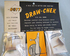 ORIGINAL 1950'S HOYT Vintage DRAW CHECK-POINT INDICATOR-NOT A CLICKER