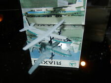 Schabak 1:600 Scale Diecast 930-17 Luxair Fokker F-27 New in Box