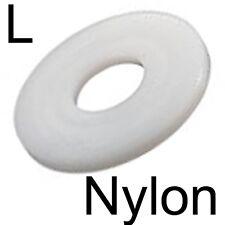 NYLON - RONDELLE PLATE L LARGE plastique - M6 (10)