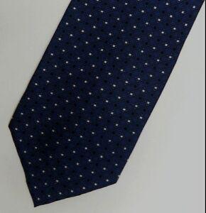 Blue Polka Dot BALMAIN Silk Tie