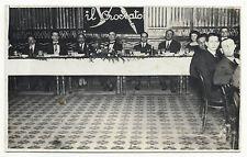 FOTO, ROMA 1921, BANCHETTO DE LA RINASCENTE AL RISTORANTE ROSETTA     m