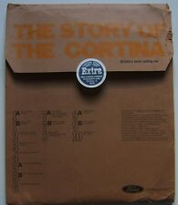 Ford Cortina Mk 1 Mk 2 Mk 3 'The Story Of The Cortina 1970 original UK Press Kit