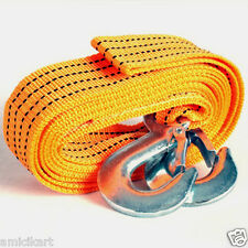 Vehicle Car Auto Towing Tow Rope 3 Ton Capacity, 3 Meter Length, Heavy Duty