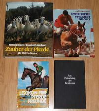 Pferdebücher x4 :Zauber der Pferde,Pferde Freizeit Sport,Lexikon..,Am Pulsschlag