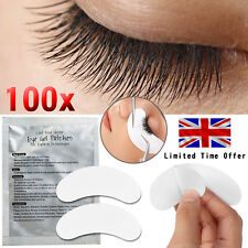 50 Pairs Salon Eyelash Lash Extensions Under Eye GEL Pads Lint Patches UK
