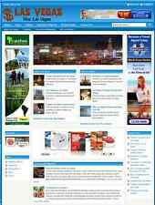 LAS VEGAS GUIDE WEBSITE BUSINESS FOR SALE - Free Installation Provided