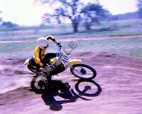 "1970's Yamaha Dirt Bike Motocross Racing Motorcycles 8""x 10"" Photo 118"