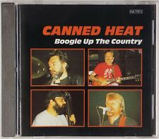 CANNED HEAT: Boogie Up the Country Rare OOP Blues Rock CD
