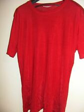 Katies True-Red Shimmery Stretchy Tee/ Top (Size 14)