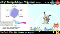 6IV COMPETITIVE MIMIKYU ⚔️ SHINY / ULTRA or NOT (+ITEM!) 🛡 SWORD & SHIELD