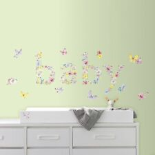 RoomMates Kathy Davis Baby Butterflies Peel And Stick Wall Decal