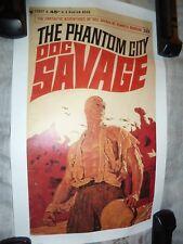 Doc Savage The Phantom City Poster