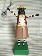 Contemporary Folk Art, Banjo Man, Black Americana, LIMITED EDITION 5/300, Signed