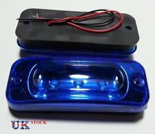 2x 24V Cab Front Marker BLUE Lamps Lights LED for DAF XF-CF-LF MERCEDES 3 LEDs