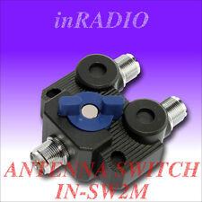 INRADIO IN-SW2M - Antennenumschalter 2fach M-Norm - 2-POSITIONS ANTENNA SWITCH