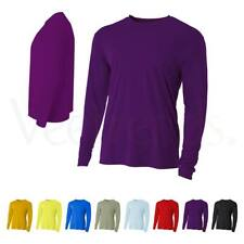 A4 Men's Cooling Performance Crew Long Sleeve Tee, N3165, S-3XL
