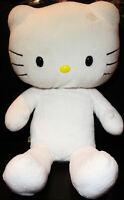 "🔴 ORIGINAL Build A Bear BAB Hello Kitty White NO Bow SANRIO 19"" w/ FREE SHIRT"