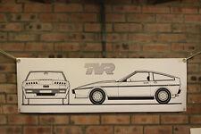 tvr tasmin 280i 350i 390 400 420 450 large pvc banner  garage  work shop  show