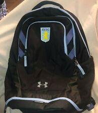 UnderArmour Storm AVFC (Aston Villa Football Club) Black Backpack / Lt Blue Trim