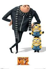 Despicable Me 2 : Gru and Minions - Maxi Poster 61cm x 91.5cm (new & sealed)