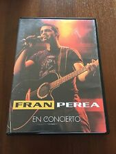 FRAN PEREA EN CONCIERTO - DVD MULTIZONA 2,3,4,5,6 - 150 MIN - 2004 SPANISH EDIT